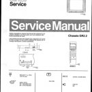 Philips 25PT510A 00 Technical Repair Schematics Circuits Service Manual