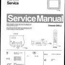 Philips 25PT550A 00 Technical Repair Schematics Circuits Service Manual