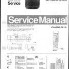 Philips 25PV7505 00B Technical Repair Schematics Circuits Service Manual