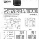 Philips 25PV7960 20S 30S Technical Repair Schematics Circuits Service Manual