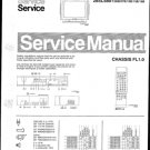 Philips 25SL5501 00B 07B 10B 13B 19B Technical Repair Schematics Circuits Service Manual
