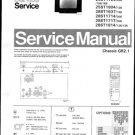 Philips 25ST1724 05B 10B 16B Technical Repair Schematics Circuits Service Manual