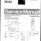 Philips 25ST2760 05B 08B 10B 13B 16B Technical Repair Schematics Circuits Service Manual