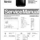 Philips 25ST2761 02B 05B 07B 08B 10B 12B 13B 16B Technical Repair Schematics Circuits Service Manual