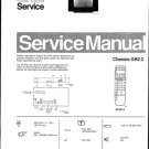 Philips 288572SB 02B Technical Repair Schematics Circuits Service Manual