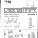 Philips 28CL6976 00Z 16Z 19Z Technical Repair Schematics Circuits Service Manual