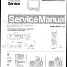 Philips 28SL5801 00B 07B 10B 13B 19B Technical Repair Schematics Circuits Service Manual