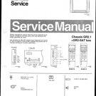 Philips 28ST1281 02B Technical Repair Schematics Circuits Service Manual