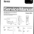 Philips 28ST1789 22Z 30Z Technical Repair Schematics Circuits Service Manual