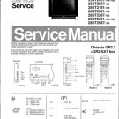Philips 28ST2181 10B Technical Repair Schematics Circuits Service Manual