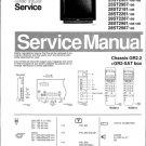 Philips 28ST2287 19B Technical Repair Schematics Circuits Service Manual