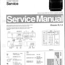 Philips 339975KR 19B Technical Repair Schematics Circuits Service Manual