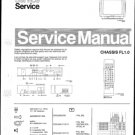 Philips 33SL5901 07B 10B 13B 19B Technical Repair Schematics Circuits Service Manual