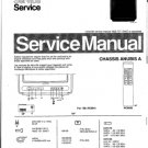 Philips 43ZZ3453 03B 06B 08B 09B 10B 11B 13B 16B 22B 26B 31B Technical Repair Schematics Circuits Se