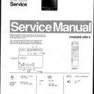 Philips 52NA2304 03B 08B Technical Repair Schematics Circuits Service Manual