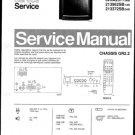 Philips 52NA2317 03B 08B 10B 12B Technical Repair Schematics Circuits Service Manual