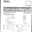 Philips 52NA2366 18B Technical Repair Schematics Circuits Service Manual