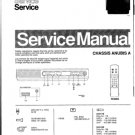 Philips 52ZZ3533 18B 38B Technical Repair Schematics Circuits Service Manual
