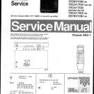 Philips 63CA1505 03B 08B 13B 16B Technical Repair Schematics Circuits Service Manual