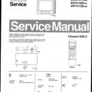 Philips 63CA1595 25Z Technical Repair Schematics Circuits Service Manual