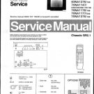 Philips 63NA1047 02B 03B 09B 11B 13B Technical Repair Schematics Circuits Service Manual