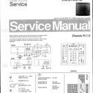 Philips 63QW7619 03R 08R 13R Technical Repair Schematics Circuits Service Manual