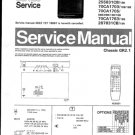 Philips 70CA1705 08B 09B 13B 16B Technical Repair Schematics Circuits Service Manual