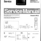 Philips 70NA2876 18B Technical Repair Schematics Circuits Service Manual