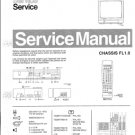 Philips 70QW7789 16S 18S Technical Repair Schematics Circuits Service Manual