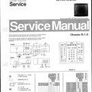 Philips 70QW7789 26R 31R 36R 38R Technical Repair Schematics Circuits Service Manual