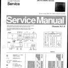 Philips 70RK5717 03R 08R 13R 23R 28R Technical Repair Schematics Circuits Service Manual