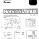 Philips 85QW7989 06R 11R Technical Repair Schematics Circuits Service Manual