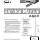 Philips CDR775 (CDR-775) CD Recorder Technical Repair Schematics Circuits Service Manual