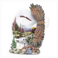 Eagles Plate Votive Holder  : 35197