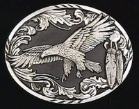 Scroll Eagle Belt Buckle  : A2D