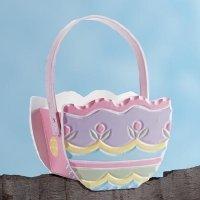 Painted Easter Egg Basket