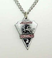 Chain Necklace & Pendant Falcons Atlanta Falcons