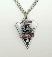 Chain Necklace & Pendant Falcons Atlanta Falcons