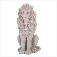 Case of 4 Lion Statues