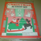 activity kit christmas and stencils nib