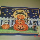 tapestry placemat scary night new halloween placemat