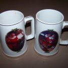 coca cola christmas coffee mugs very cute 1996