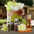 Painted Daisy, Gourmet Tea Gift Basket