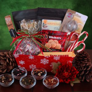 Snowflake, Tea Gift Basket