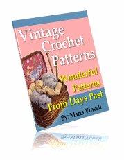Vintage Crochet Patterns Ebook