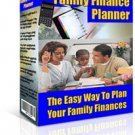 Family Finance Planner Ebook