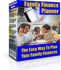 Family Finance Planner Ebook