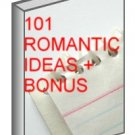 101 Romantic Ideas + BONUS Ebook