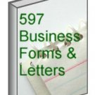 597 different letters and forms for business