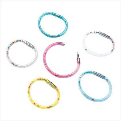 Beaded Hula Hoop Pen Bracelets